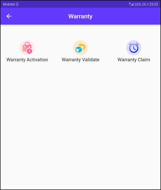 warranty Dashboard